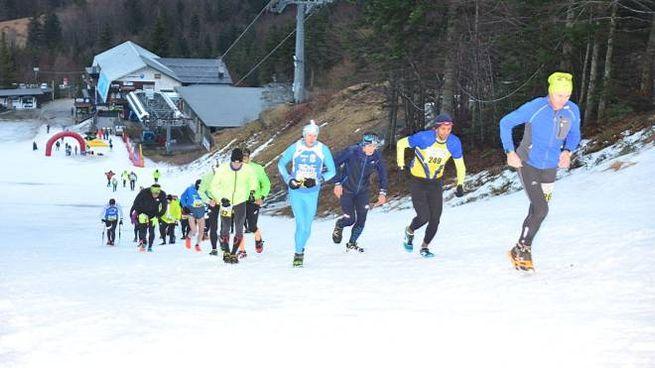 Snow Run all'Abetone (foto Regalami un sorriso onlus)