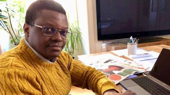 Stephen Ogongo, 45 anni, capo delle Sardine di Roma (Dire)