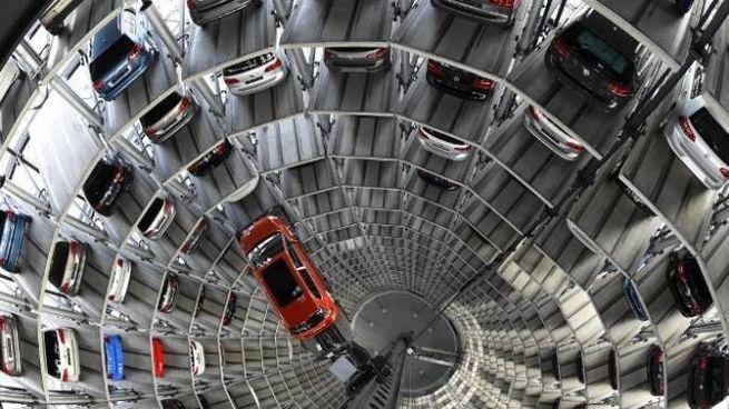 Garage (immagine d'archivio)