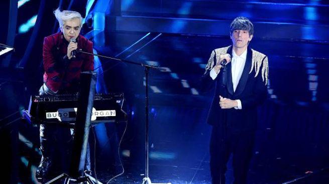 Sanremo 2020, Morgan e Bugo (foto Ansa)