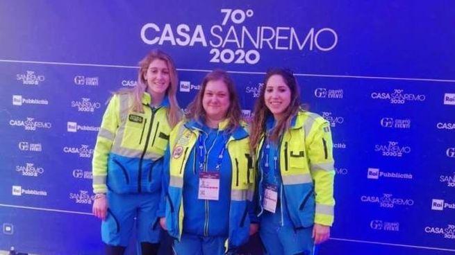 Le volontarie al Festival