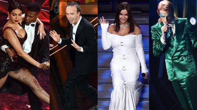 Sanremo, il meglio della terza serata (Ansa)