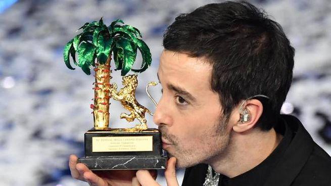 Antonio Diodato, vincitore del Festival di Sanremo (Ansa)