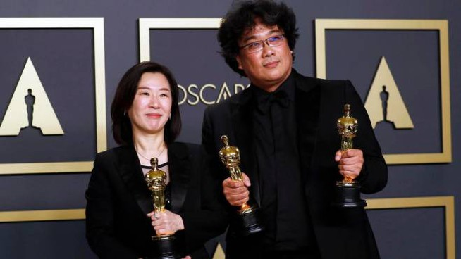 Parasite trionfa agli Oscar (Ansa)