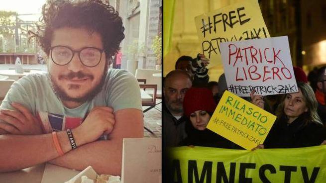 Bologna, il flash mob per lo studente arrestato in Egitto (FotoSchicchi)