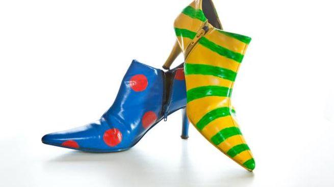 Scarpe mismatches da donna