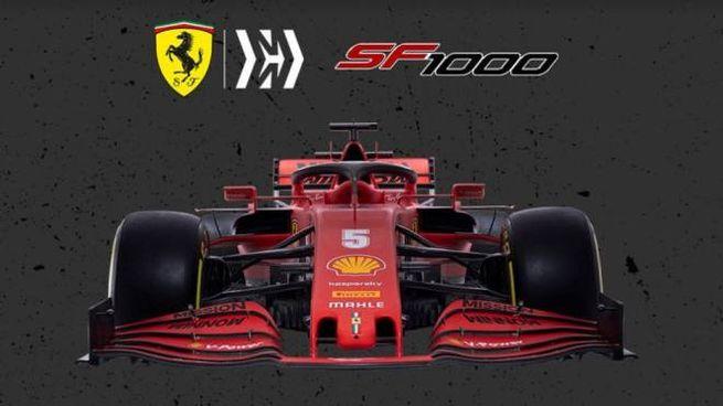 La nuova Ferrari SF 1000 (apertura sito Ferrari)