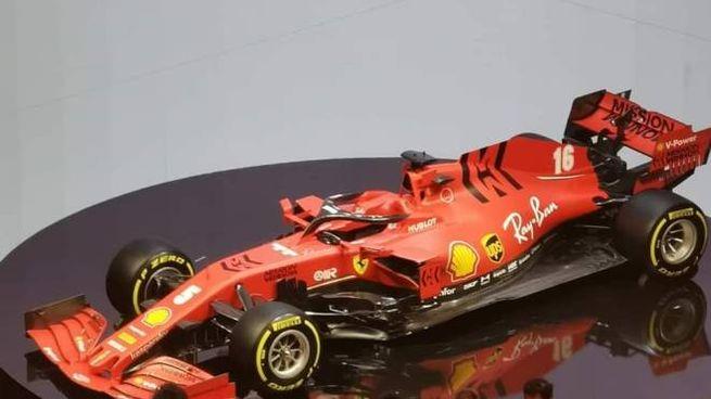 La presentazione della nuova Ferrari SF 1000 (Ansa)