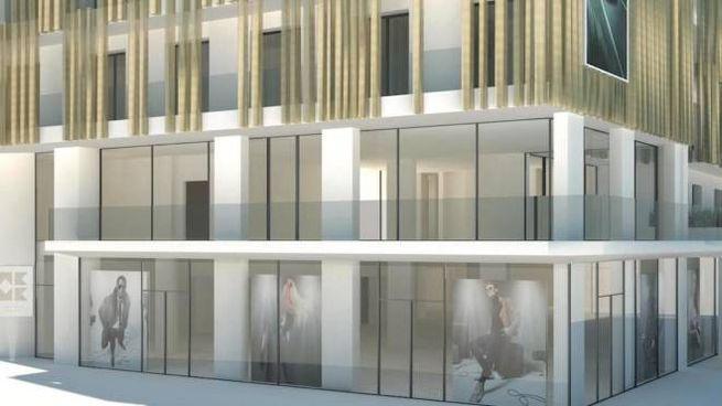La facciata del We.Me Suite Hotel che aprirà a Riccione