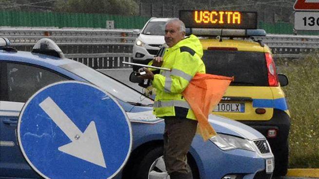 Incidente a Jesi, traffico in tilt sulla Statale 76 (foto d'archivio Aprili)