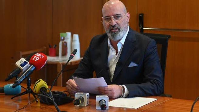 Stefano Bonaccini oggi ha presentato la nuova Giunta regionale (FotoSchicchi)