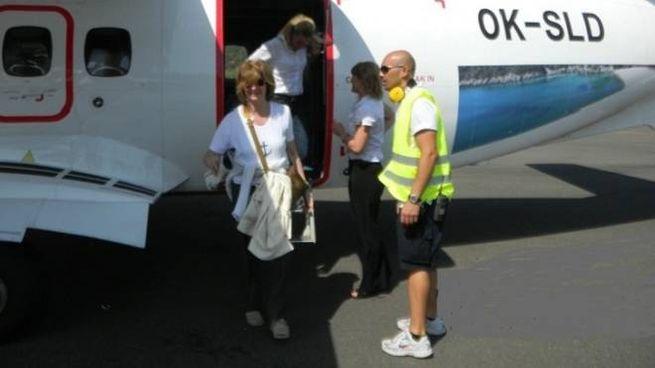 In aereo all'Elba