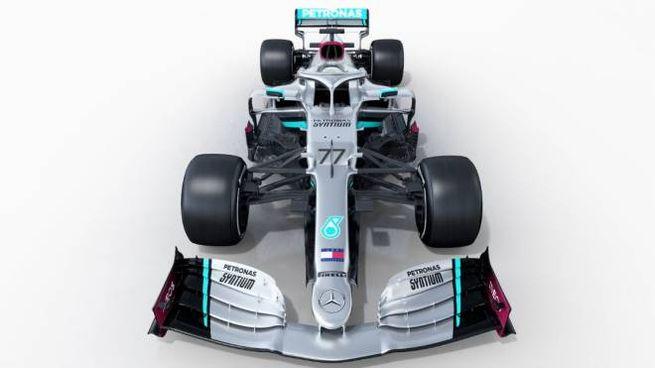F1, la nuova Mercedes W11 (Foto Twitter)