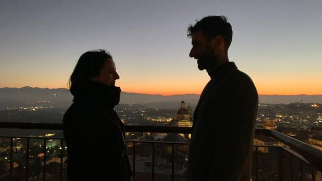 San Valentino 2020, proposta di matrimonio sulla Torre dell'Orologio