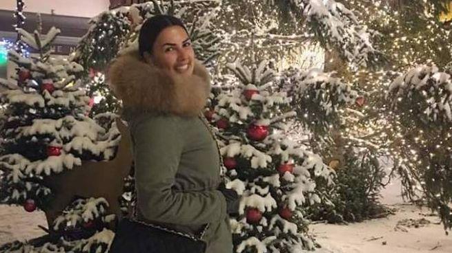 Una sorridente Cristina Cesari, 25 anni, sulla neve che amava