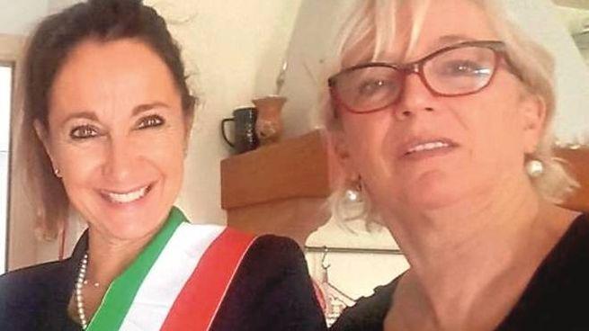 Il sindaco Antonella Argenti e l'assessore Graziella Vigri