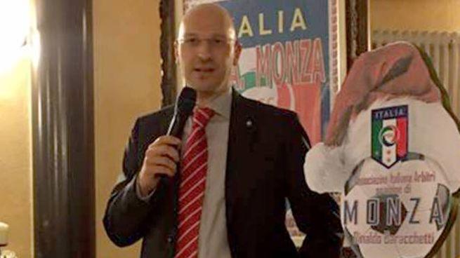 Il presidente della sezione di Monza dell'AIA, Sem Perego