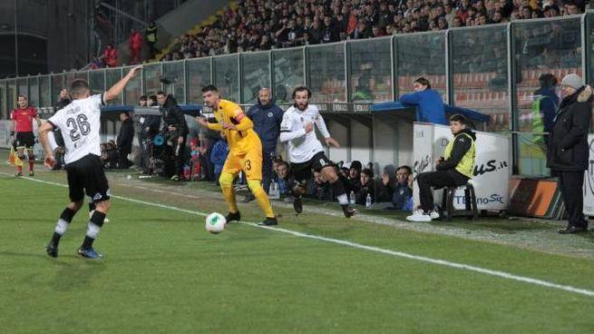 Lo Spezia batte l'Ascoli in rimonta (Foto Frascatore)