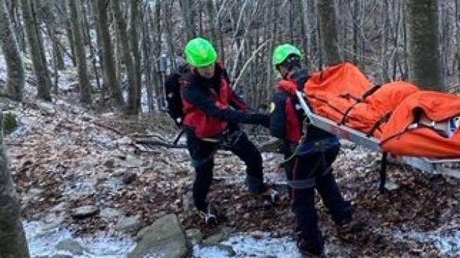 I soccorritori in azione