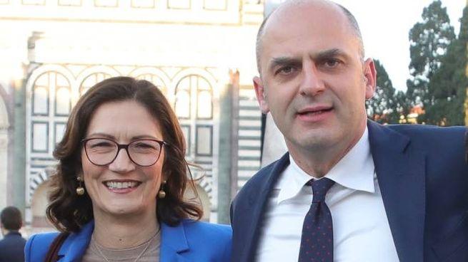 Stefano Mugnai con Mariastella Gelmini
