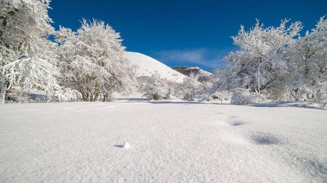 Meteo, un po' di neve mercoledì sull'Appennino (foto d'archivio iStock)