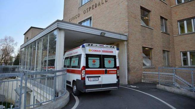 L'ospedale di Codogno (Lodi)
