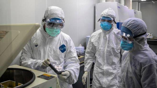 Alcuni test sulla positività effettuati nel reparto di malattie infettive