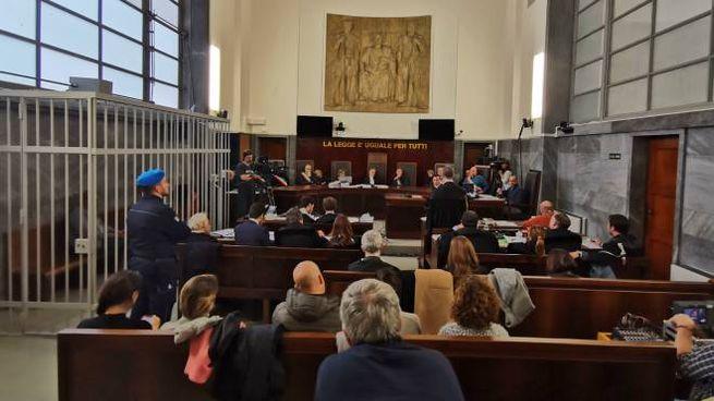 Aula del Palazzo di giustizia di Milano