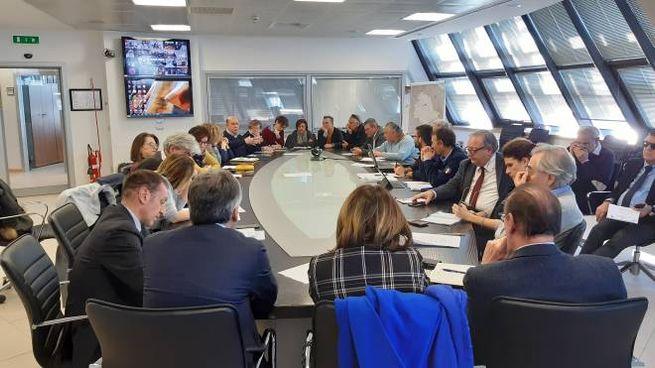 La riunione della task force sul coronavirus in Umbria