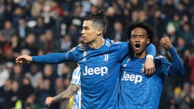 Ronaldo e Quadrado (Ansa)