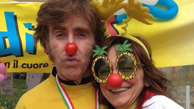 NASI ROSSI Stefania Galbiati con il compagno Paolo Guarino