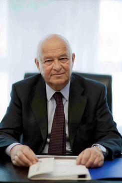 Lorenzo Cagnoni, presidente di Italian Exhibition Group Sotto, l'ad Corrado Peraboni