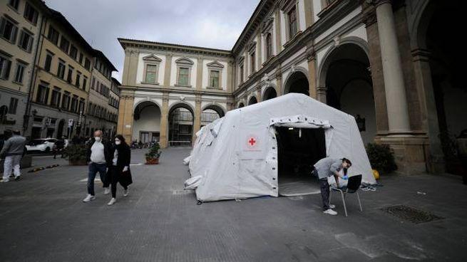 Coronavirus, primo caso a Firenze (ImagoE)