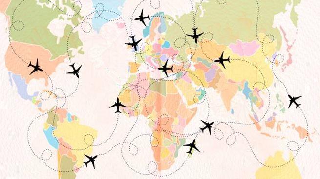 La sfida a elaborare il giro del mondo low cost in aereo