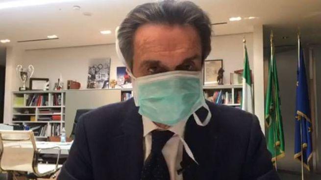 Il presidente di Regione Lombardia, Attilio Fontana
