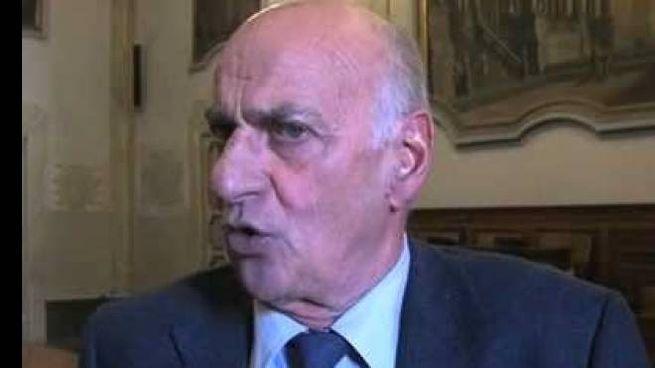 Il senatore Aroldo Cascia