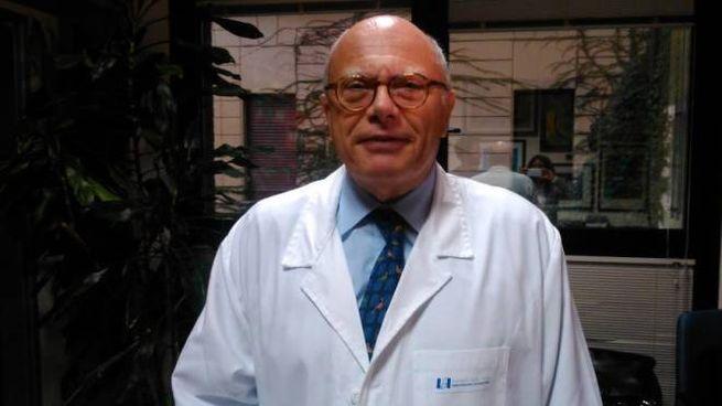 Massimo Galli,  direttore del reparto di malattie infettive dell'ospedale Sacco