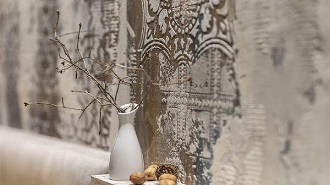 Splendide decorazioni a parete realizzate con gli stencil