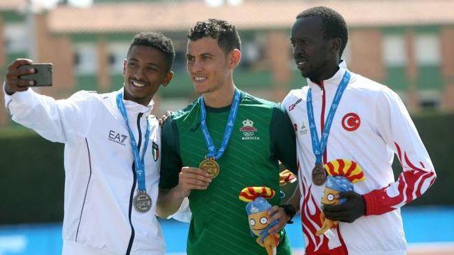 Eyob Faniel sul podio ai Giochi del Mediterraneo