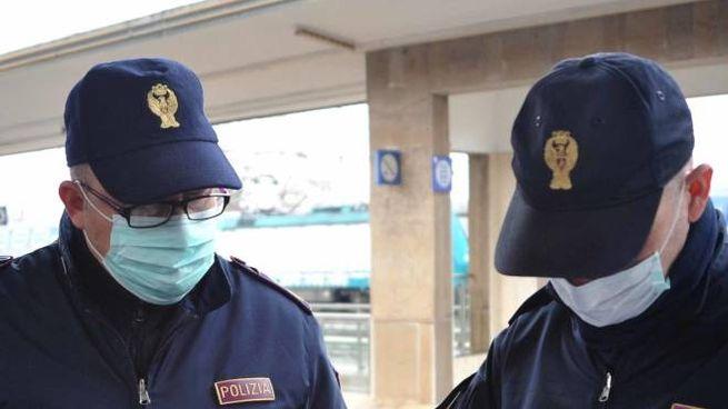La polizia ferroviaria ha denunciato tre persone