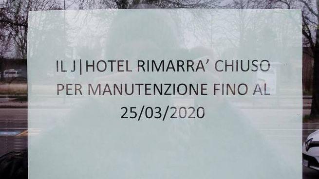 J Hotel chiuso per ospitare la squadra e lo staff della Juventus in quarantena (Ansa)
