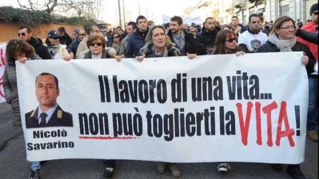 Commemorazione a Milano di Nicolò Savarino