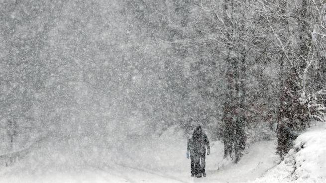 Previsioni del tempo, ipotesi ondata di gelo e neve (foto Ansa)