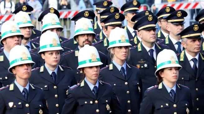 Polizia Locale a Milano in una foto di archivio