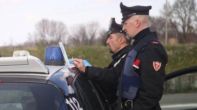 I quattro minorenni sono stati identificati dai carabinieri