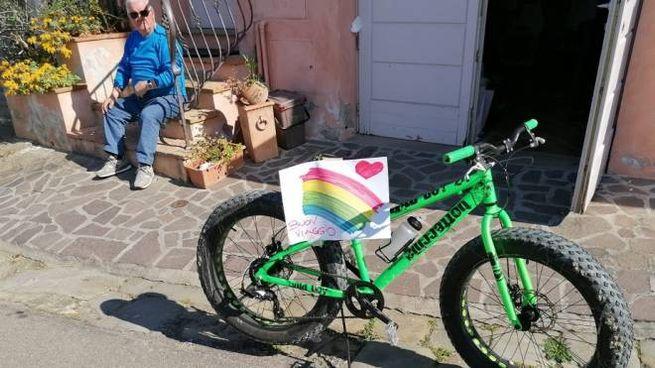 Le biciclette in strada