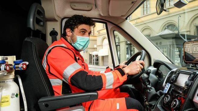 L'interno di un'ambulanza (New Press Photo)