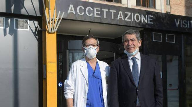 Angelo Cordone e Giovanni Marino