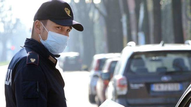 Dieci poliziotti della Questura di Rimini stanno finendo la quarantena (foto d'archivio)