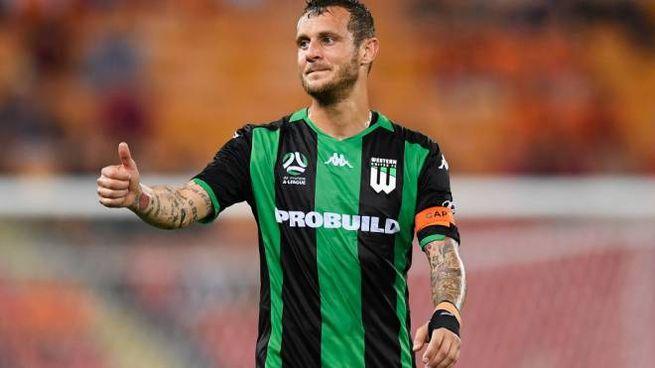 Alessandro Diamanti, capitano del Western United, squadra australiana